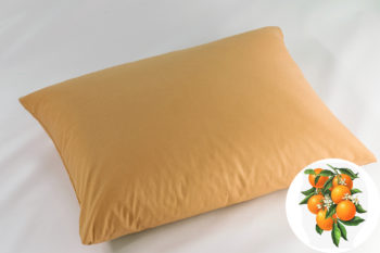 Természetes Memory Párna Aroma Therapy Narancs Virág 50x40cm Orange
