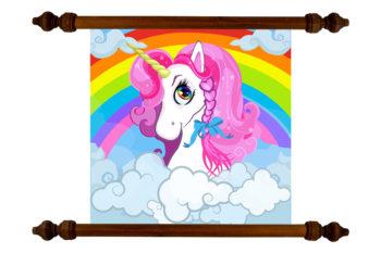 TANKA Kids Pink Hair Unicorn