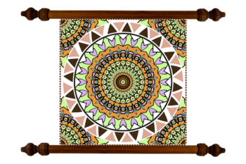 Tablou TANKA Mandala Good Luck