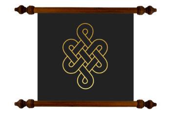 Tablou TANKA Infinite Knot #2