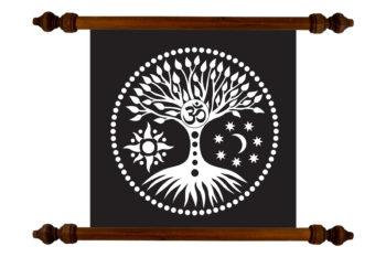 Tablou TANKA Tree of life #2