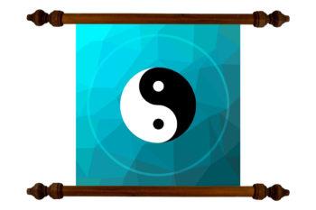 TANKA Yin Yang festmény a szerencse kiegyensúlyozására és vonzására # 13