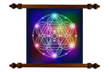 Tablou TANKA Sacred Geometry Triangels