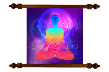 Tablou TANKA Arkangel Meditation