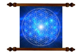 Tablou TANKA Flower of Life Wisdom