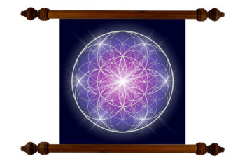 Tablou TANKA Flower of Life Energy