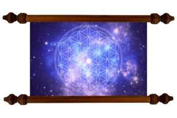 Tablou TANKA Flower of Life Cosmos