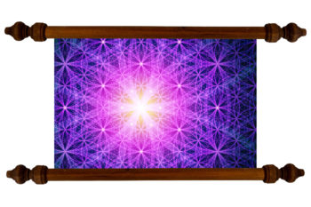 Tablou TANKA Flower of Life Brightness
