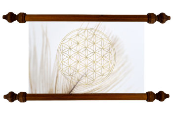Tablou TANKA Flower of Life Purity
