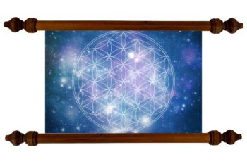 Tablou TANKA Flower of Life Night