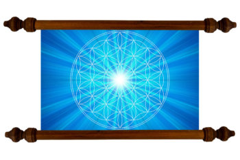 Tablou TANKA Flower of Life Truth
