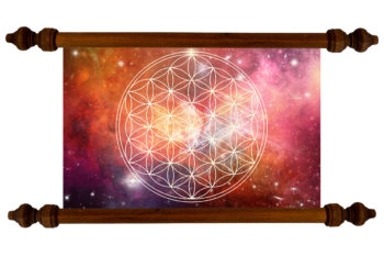 Tablou TANKA Flower of Life Depth