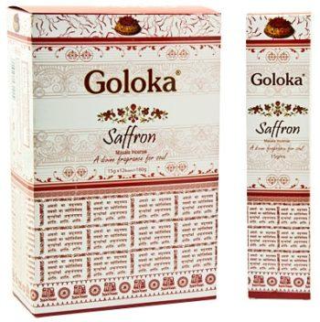 BETISOARE PARFUMATE INDIA GOLOKA SAFFRON – AUTENTICE