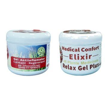 SET ELIXIR CALMANT 20 plante medicinale + ELIXIR CALMANT 48 plante medicinale – reducere